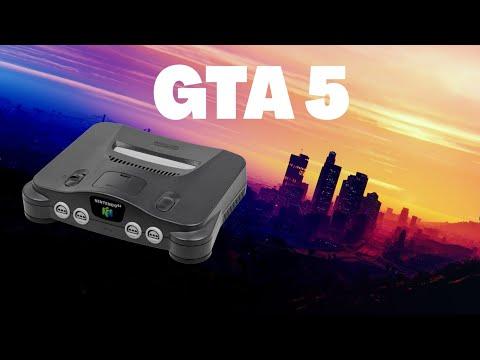 Gta 5 Sur Nintendo 64 Youtube