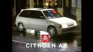 Citroen AX GT advert