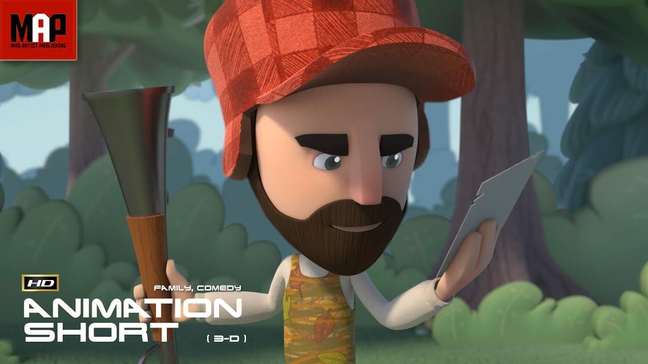 "CGI 3D Animated Short Film ""MY BEARY BEST FRIEND"" Cute"