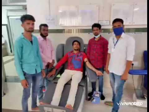 टीमरक्तदाता चित्तौरगढ़  बी नेगेटिव रक्तपुर्ती कर बचाई गर्भवती महिला की जान