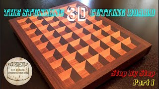 The Stunning 3D Cutting Board - Part 1
