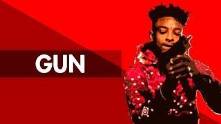 """""""GUN"""" Hard Trap Beat Instrumental 2018   Dark Dope Lit Rap Hiphop Freestyle Trap Type Beat   Free DL"""
