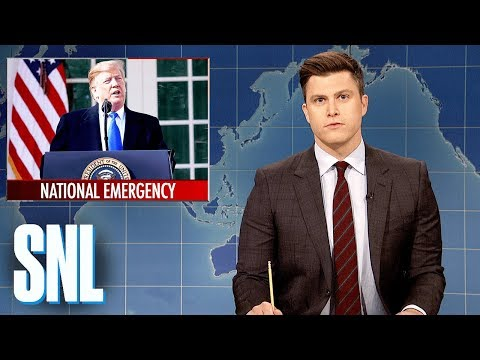 Weekend Update: President Trump Declares a National Emergenc