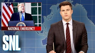 Weekend Update: President Trump Declares a National Emergency - SNL