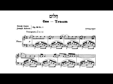 J. Achron - 2 Pieces, Op. 56 (Jascha Nemtsov, piano)