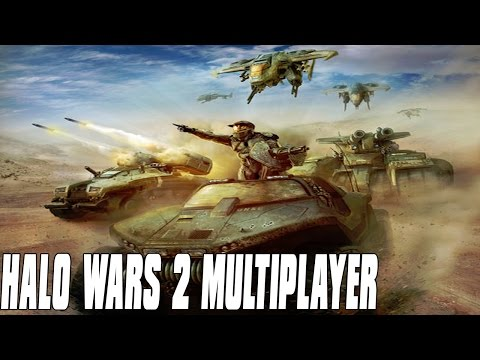 Halo Wars 2 Multiplayer 2vs2 - Air Fight