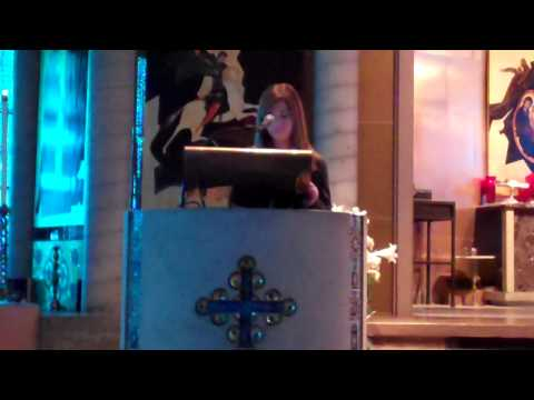 Ascension Cathedral Sunday School Graduation Ceremony - Student Speaker 1