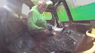 Этот карьер забирает нашу технику #газ71 #утонул