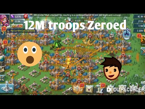 Lords Mobile- Troop Hoarder 12M Troops Zeored Lords Mobile | Lord's Mobile