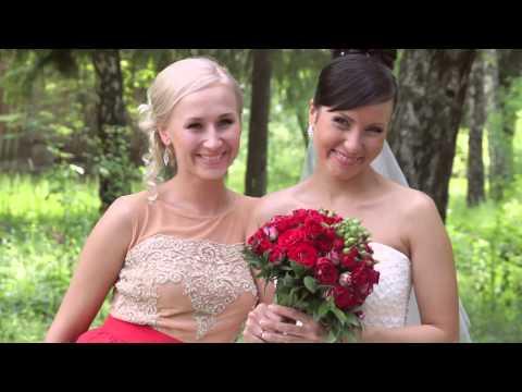 Самая весёлая свадьба в красном 2014!
