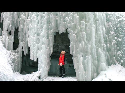 Winter in Jasper National Park, Alberta