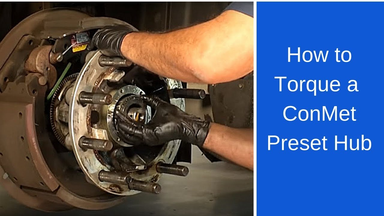 Buick Century Diagram Properly Torque A Conmet Preset Hub Youtube