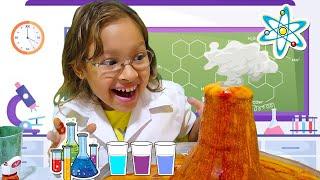 Experimentos de ciência para crianças com Gatinha das artes!!! - ÁGUAS QUE ANDAM