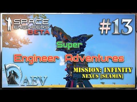 Space Engineers ► Super Engineer Adventures►ч.13- Вкусный водород!