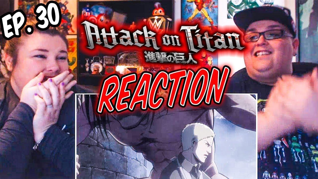 """Attack on Titan Episode 30 (2x5) """"Historia"""" REACTION ..."""