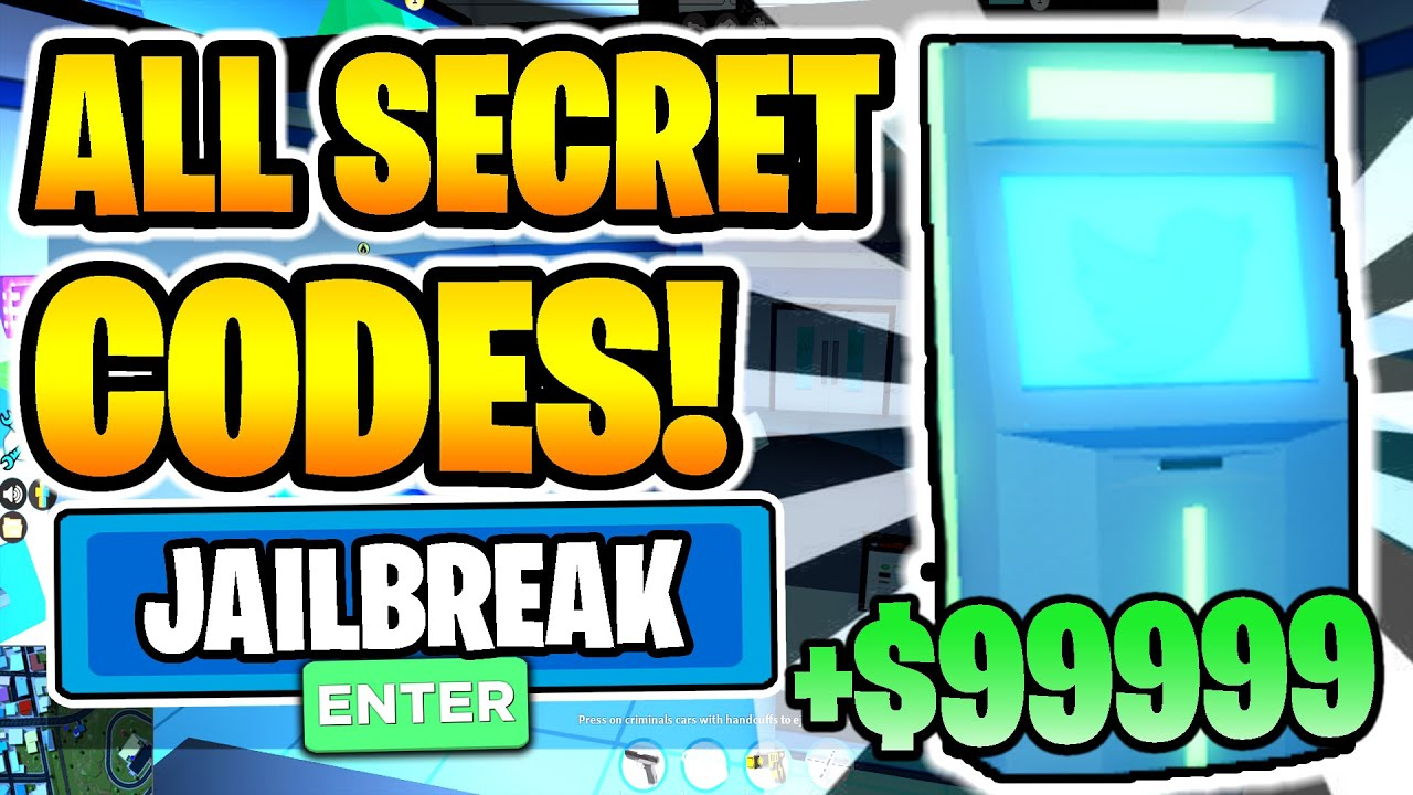 2020 All New Secret Working Codes In Jailbreak Roblox Youtube