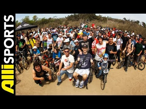 Best Of BMX from Boozer Jam 2013 at Sheep Hills in Costa Mesa, Alli Sports