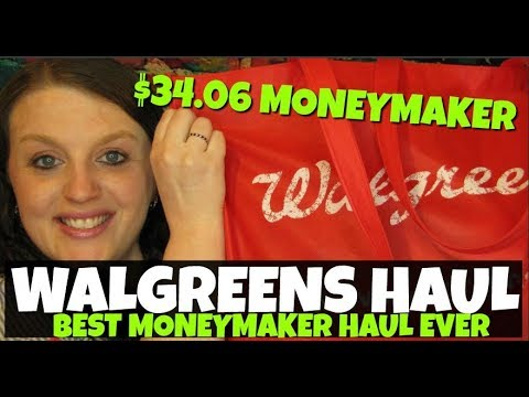 Walgreens $34.06 MONEYMAKER Haul May 13th-19th 2018
