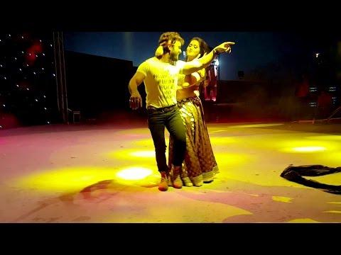 Khesari Lal Yadav And Kajal Raghwani ,Ritu Singh - Live Perormance At Doha Qatar - 02.12.2016