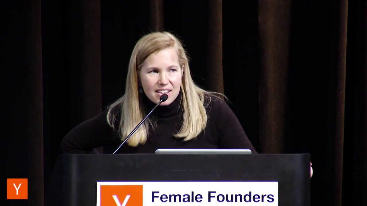 Jessica Livingston at Female Founders Conference 2014