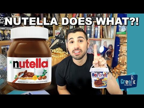 Does Nutella Cause Cancer?!?! (My mom threw it out)