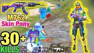 [PUBG Mobile] Trải nghiệm skin M762 Pony LV5 và Full set Đồ VUA TRÒ CHƠI  