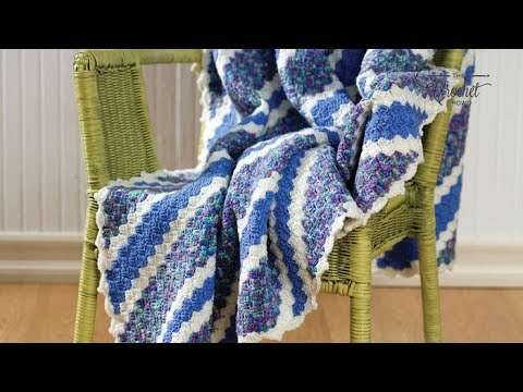 Crochet Corner To Corner Afghan C2c Youtube
