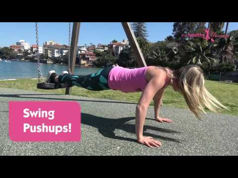 Park Workout For Busy Mums - The Healthy Mummy