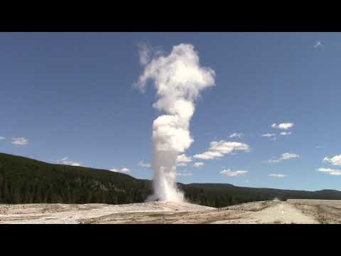 Old Faithful Geyser Biggest Eruption Ever!