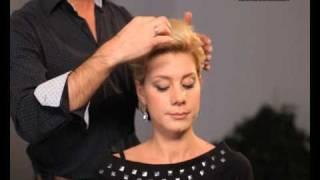 видео Укладка волос, виды укладок, технология выполнения укладок, элементы прически
