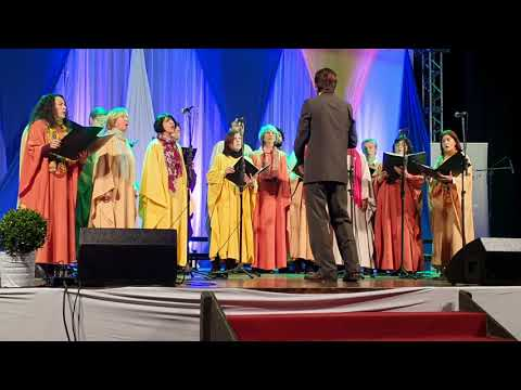 Los pájaros perdidos, coro Tahil Mapu de la UNER (Concordia, Entre Ríos)