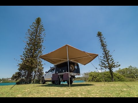 270 Degree Gull Wing Awning Review The Bush Company