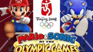 Mario & Sonic at the Olympic Games Music (Wii)- Athletics Track- 100m
