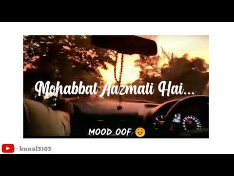 Download #DeewaneHumNahi#sadsong#moodoff  Aditya Yadav - Deewane Hum Nahi Song lyrics status video 2020...!