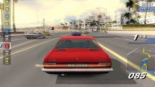 Ford Bold Moves Street Racing - PS2 Gameplay (1080p60fps)