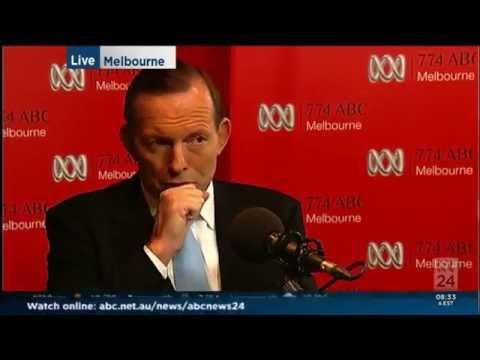 Tony Abbott talks to Jon Faine on 774 ABC Radio 21 May 2014