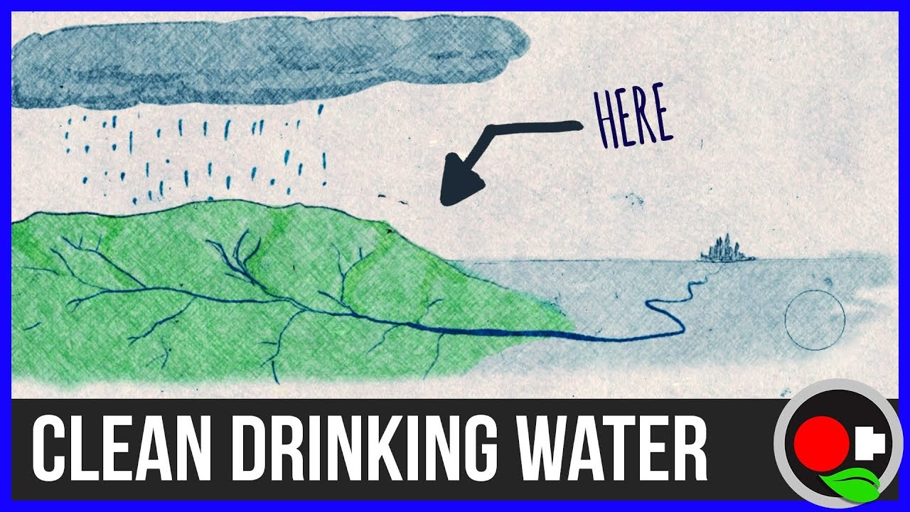 how to keep drinking water clean