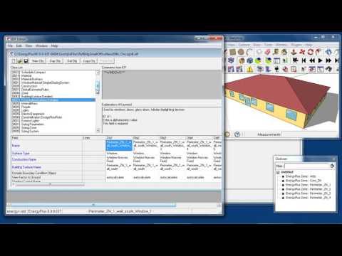 08 EnergyPlus Building Envelope Overview