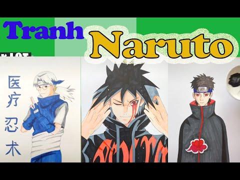 Vẽ Tranh Naruto Đẹp Ngất Ngây – Tranh Vẽ Naruto