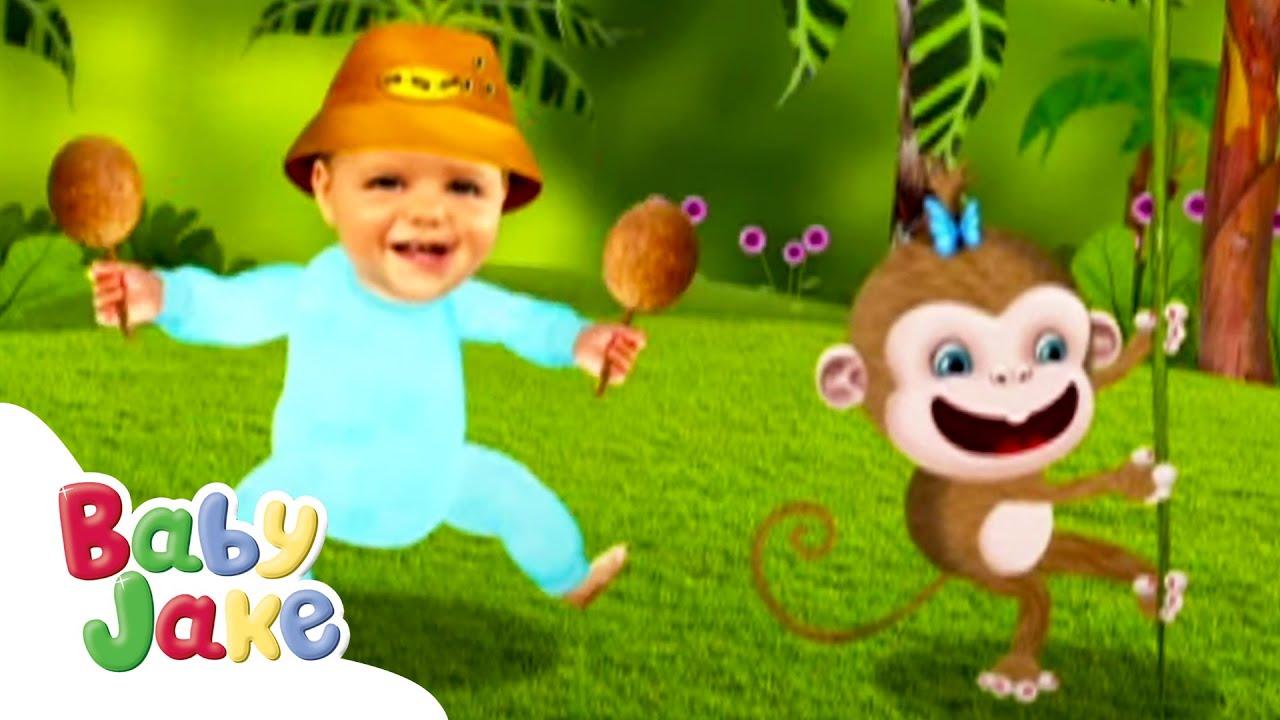 Baby Jake   Jungle Dancing! 🌴   Yacki Yacki Yoggi