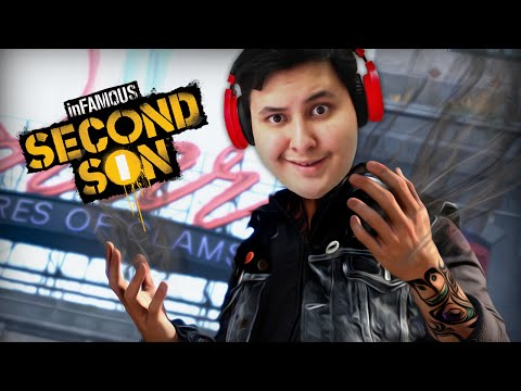 InFamous Second Son [N7] -1- بدايتنا كأبطال؟