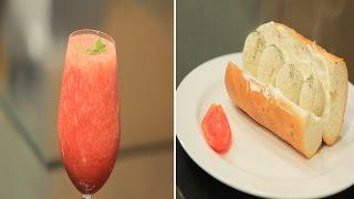 سندوتش كرات الدجاج -  عصير العنب بالفراولة | سندوتش وحاجة ساقعة حلقة كاملة