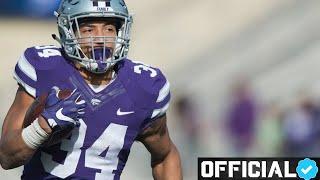 STRONGEST Running Back in NFL Draft 💪🏽 Official Alex Barnes Kansas State Highlights