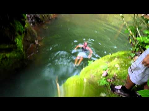 Waterfall Slide  Canyoning in El Impossible