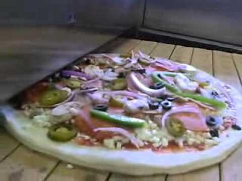 Italforni Ts Gas Stone Conveyor Oven Youtube
