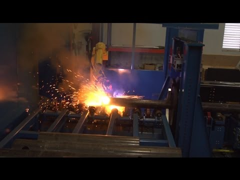 Robotic Plasma Cutting System for Metal Pipe with Automatic Load/Unload - ARC Specialties