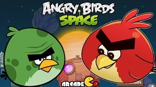 Angry Birds Space: Mirror Worlds All Powers Try Out