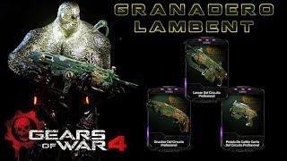 """Gears of War 4 l 1ra. Partida Granadero Lambent l RDLC l """"Dique Seco"""" l 1080p Hd"""