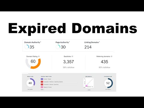 How to find Expired Domains with high DA, DR, TF and Traffic - Earn $1000
