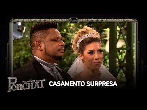 Tati e Marcelo falam sobre emoção em casamento surpresa
